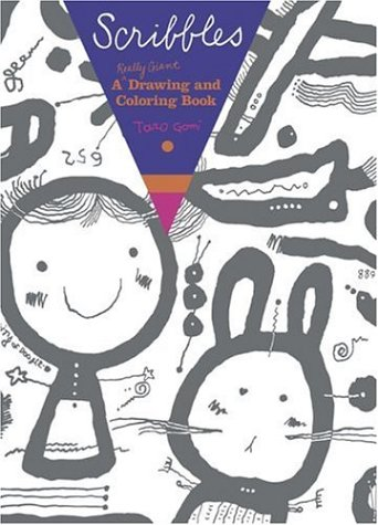 9780811855099: Scribbles: A Really Giant Drawing and Coloring Book