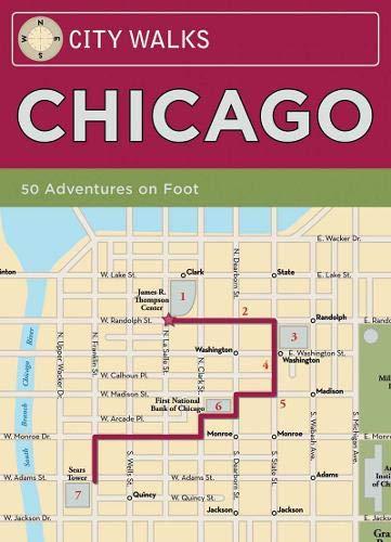 9780811855587: City Walks: Chicago: 50 Adventures On Foot