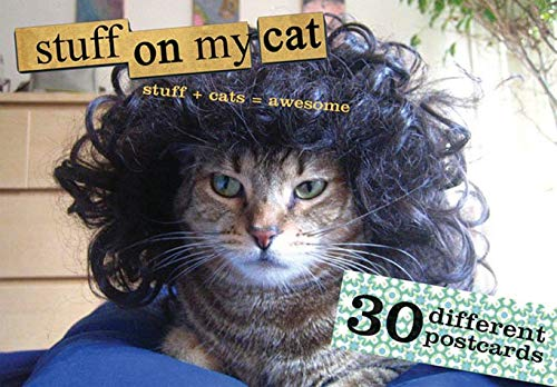 9780811855723: Stuff On My Cat: The Postcard Box: 30 Postcards