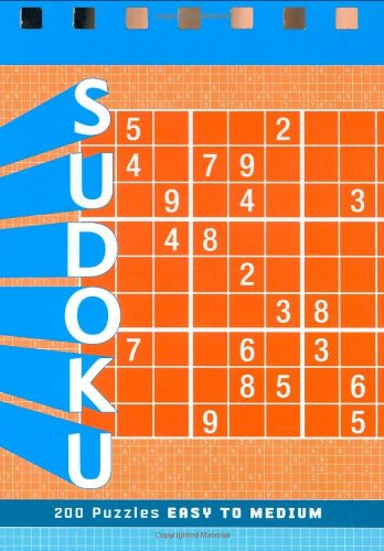 9780811856256: Sudoku: 200 Puzzles Easy to Medium