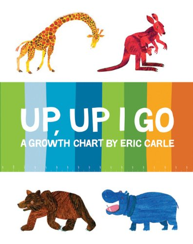 9780811857864: The World of Eric Carle(TM) Up, Up I Go Growth Chart