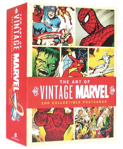 The Art of Vintage Marvel: 100 Collectible Postcards