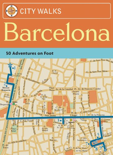 9780811859110: City Walks: Barcelona: 50 Adventures on Foot