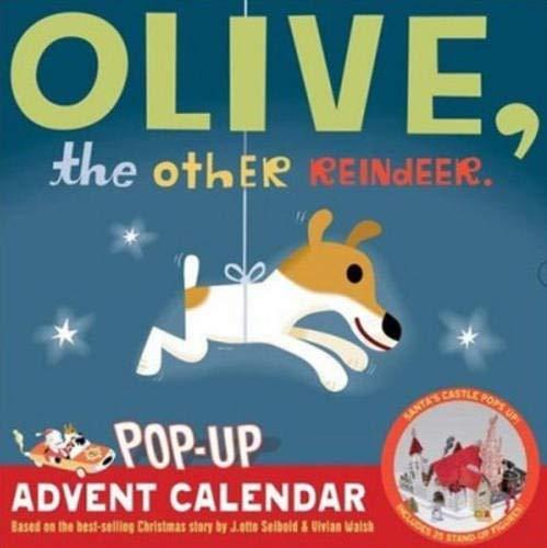 9780811859202: Olive, the Other Reindeer Pop-Up Advent Calendar