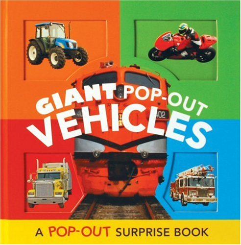 9780811859530: Giant Pop Out Vehicles (Pop Out Surprise Book)
