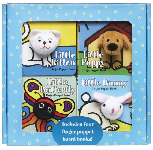 9780811859967: Finger Puppet Playtime Boxed Set [With Finger Puppets]