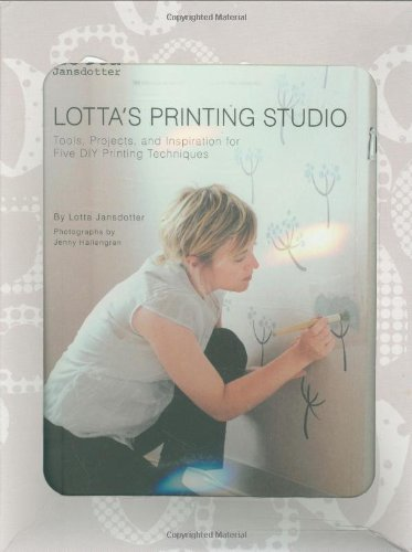 9780811860352: Lotta Lansdotter - Lotta's Printing Studio: Tools, Projects, and Inspiration for Five DIY Printing Techniques