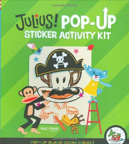 9780811860956: Julius! Pop-Up Sticker Activity Kit [With Sticker(s)]
