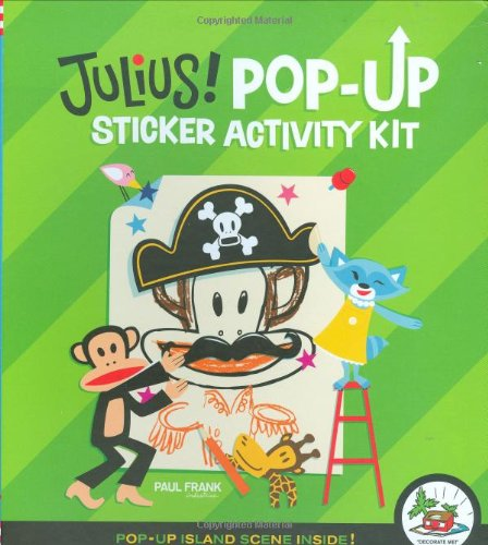 9780811860956: Julius! Pop-Up Sticker Activity Kit