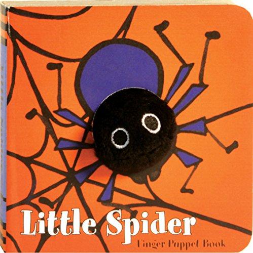 9780811861045: Little Spider (Finger Puppet Book)