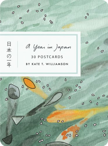 9780811861489: A Year in Japan Postcard Book (Card Book)