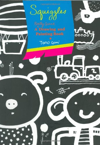9780811861519: Squiggles: A Really Giant Drawing and Painting Book