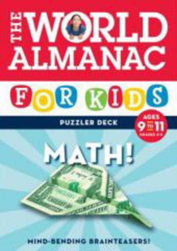 9780811861595: The World Almanac for Kids Puzzler Deck: Math, Ages 9-11, Grades 4-5