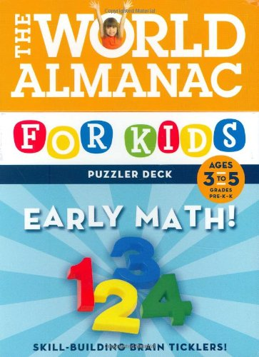 World Almanac Puzzler Deck: Early Math, Ages 3-5, Grades PreK-1 (9780811861632) by Lynn Brunelle