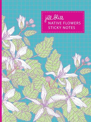 9780811862219: Native Flowers Sticky Notes