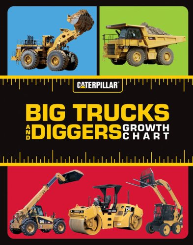 9780811862523: Big Trucks and Diggers Growth Chart