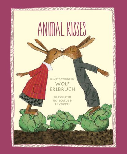 9780811862752: Animal Kisses: Notecards