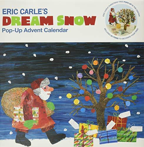 9780811862936: Eric Carle's Dream Snow Calendar: Pop-Up Advent Calendar