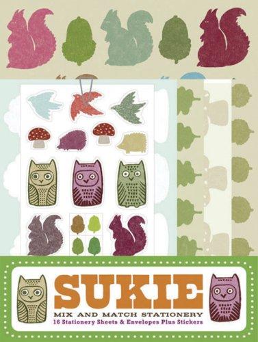 9780811864633: Sukie: Mix and Match Stationery