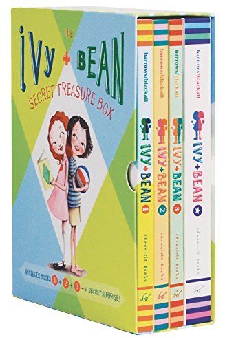 9780811864954: Ivy + Bean Secret Treasure Box: Books 1, 2, and 3 and a Cool Secret Surprise!