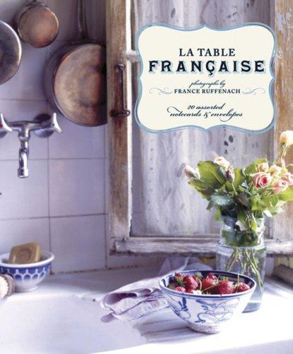 9780811865647: La Table Française: Notecards