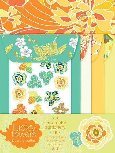 9780811865760: Lucky Flowers Mix and Match Stationery