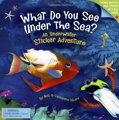 9780811866149: What Do You See Under the Sea?: An Underwater Sticker Adventure
