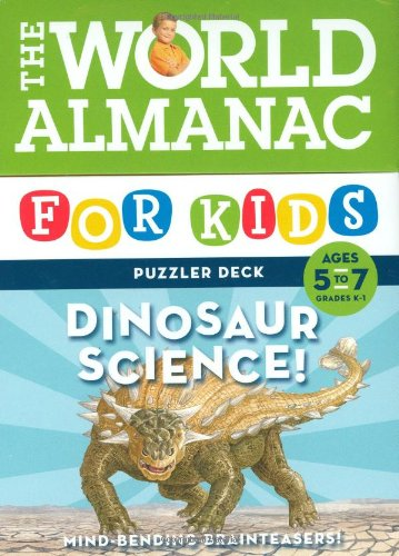 9780811866514: World Almanac for Kids Puzzler Deck: Dinosaur Science 5-7: Ages 5-7, Grades K-1