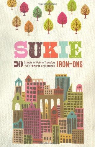 SUKIE IRON-ONS 30 Sheets of Fabric Transers: Darrel & Julia