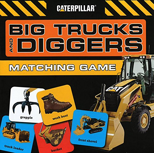 Big Trucks and Diggers Matching Game (Novelty)