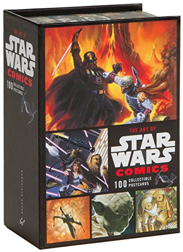 9780811867290: The Art of Star Wars Comics: 100 Collectible Postcards