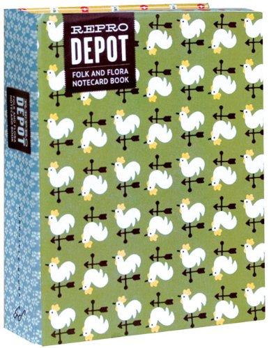 9780811867474: Reprodepot Folk and Flora Notecards (Stationery)