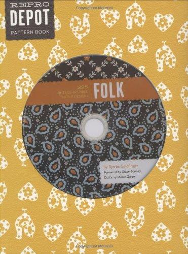 9780811867481: Reprodepot Pattern Book: Folk: 225 Vintage-Inspired Textile Designs (Reprodepot's Pattern Book)