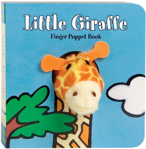 9780811867870: Little Giraffe: Finger Puppet Book (Little Finger Puppet Board Books)