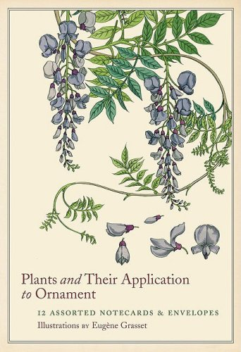 Plants and Their Application to Ornament Notecards (9780811868099) by Eugène Grasset