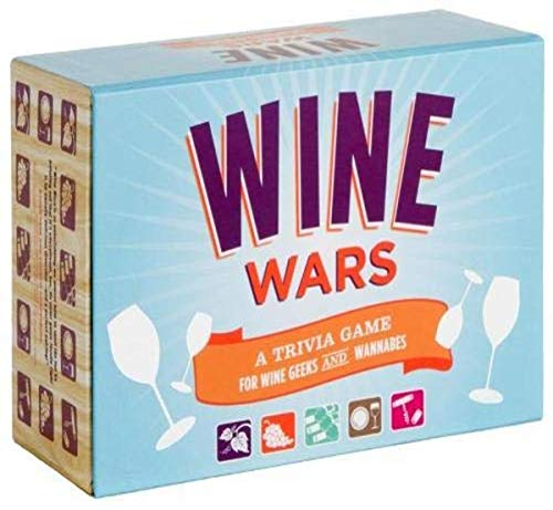 9780811868341: Wine Wars! Board Game: A Trivia Game for Wine Geeks and Wannabes