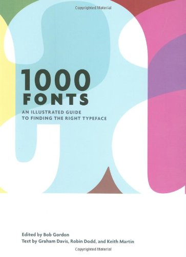 9780811868464: 1000 Fonts: An Illustrated Guide to Finding the Right Typeface