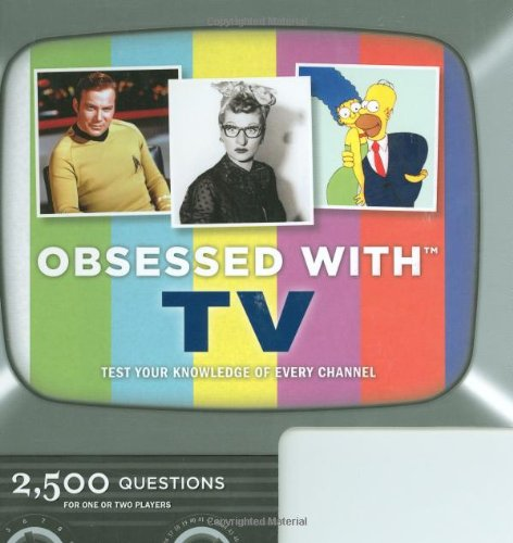 9780811868488: Obsessed with TV
