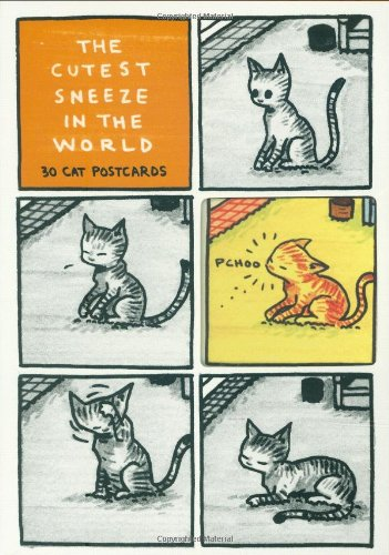 Cutest Sneeze in the World Postcard Box
