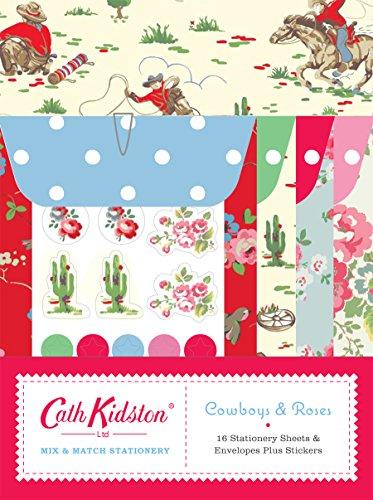 9780811869195: Mix & Match Stationery: Cowboys & Roses