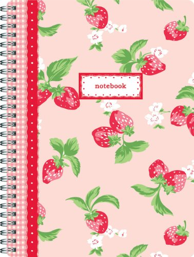 9780811869232: Cath Kidston Strawberries Notebook