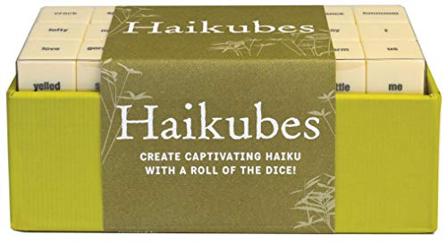 9780811869386: Haikubes: Create Captivating Haiku With a Roll of the Dice!
