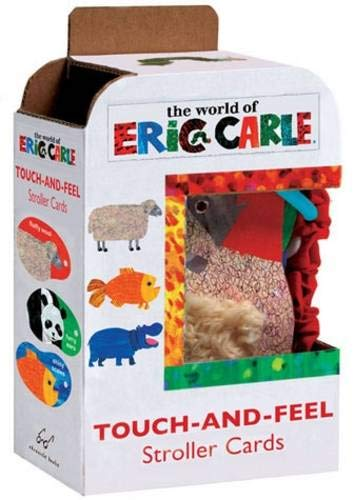 9780811869591: Eric Carle Touch-And-Feel Stroller Flashcards (The World of Eric Carle)