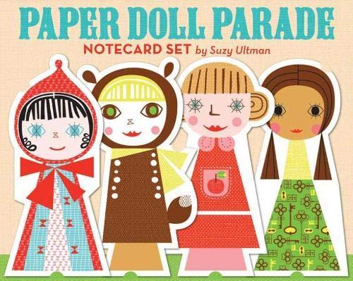 9780811869775: Paper Doll Parade Notecard Set