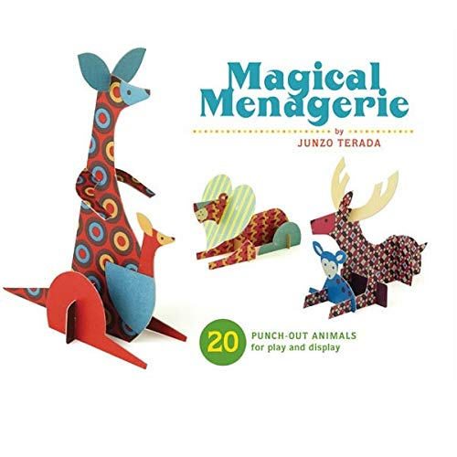 9780811870030: Magical Menagerie: 20 Punch-Out Animals for Play and Display