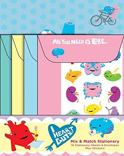9780811870115: Mix & Match Stationery: I Heart Guts