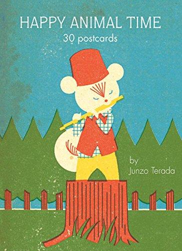 9780811870139: Happy Animal Time: 30 Postcards