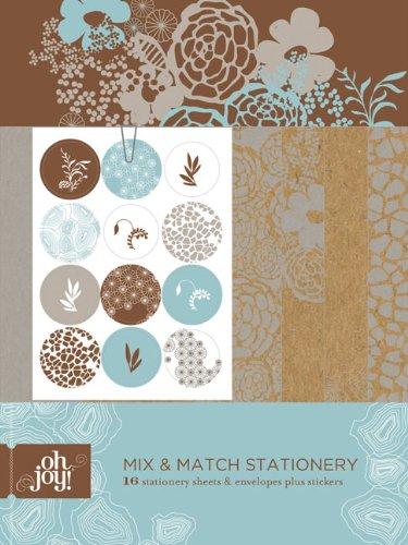 9780811870337: Oh Joy! Mix & Match Stationery