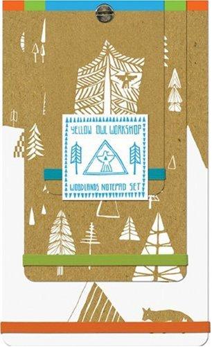 9780811870429: Yellow Owl Woodlands Notepad Set