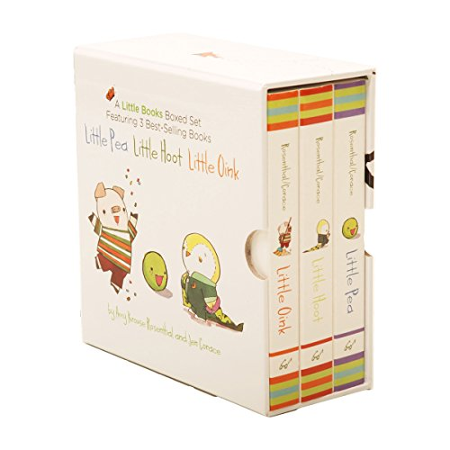 9780811870542: The Little Books Boxed Set: Little Pea/Little Hoot/Little Oink